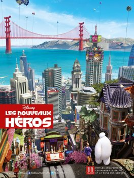 Les Nouveaux Héros-Affiche-France-Jour