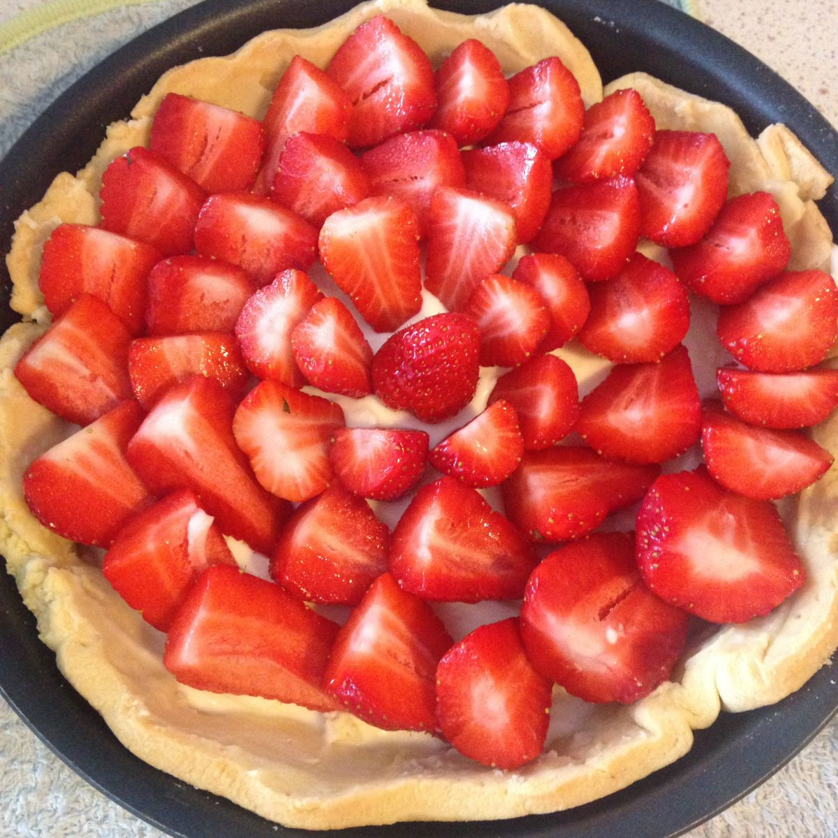[RECETTE] La tarte Fraise Mascarpone de Ladurée